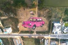 Amazing-Car-rangoli-is-attracting-@Sirisilla-4