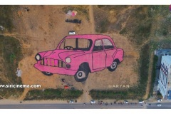 Amazing-Car-rangoli-is-attracting-@Sirisilla-2