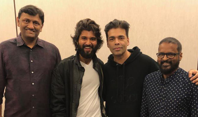 Karan Johar Watches 'Dear Comrade' Announces Hindi Remake