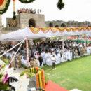 ముఖ్యమంత్రి కె.చంద్రశేఖర్ రావు గోల్కొండ కోటపై జాతీయ పతాకాన్ని ఆవిష్కరించారు. జెండా ఆవిష్కరణ అనంతరం ముఖ్యమంత్రి ప్రసంగించారు
