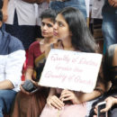 Dr Rajasekhar at dharna chowk to support junior doctors - Photos