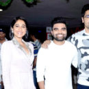 Evaru premiere at Prasads multiplex - Hyderabad