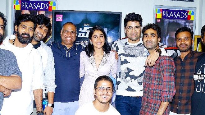 Evaru premiere at Prasads multiplex - Hyderabad Last Set