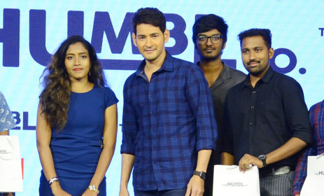 Superstar Mahesh Launches New CLothing Brand 'THE HUMBL CO' Along WIth Spoyl