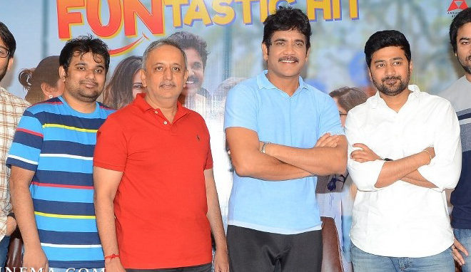Manmadhudu 2 Success Meet