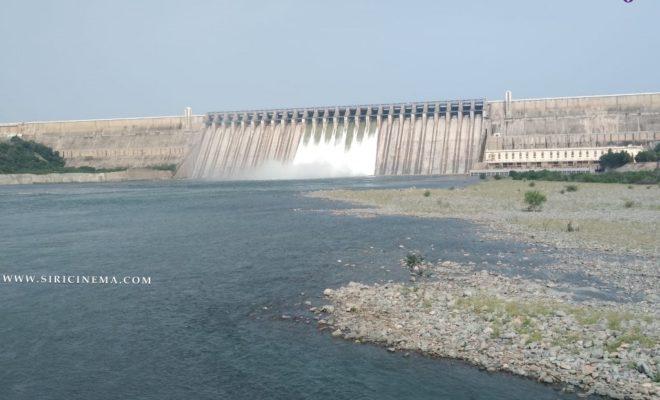 Nagarjuna sagar dam 7 gates were opened
