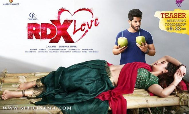 RDXLoveTeaser will be exploding tomorrow at 932 AM