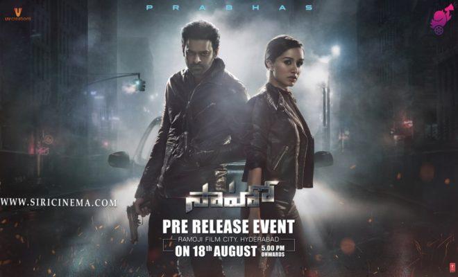 Saaho Pre Release _Telugu