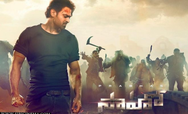 SaahoTrailer out at 5 pm today
