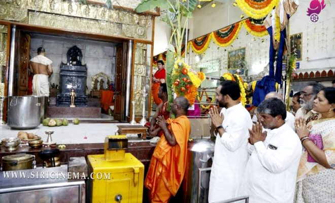 Sri G. Kishan Reddy's Raghavendra Swamy Temple in Barkatpura