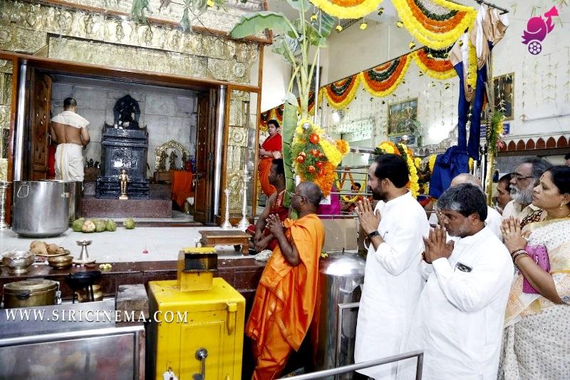 Sri G. Kishan Reddy's Raghavendra Swamy Temple in Barkatpura