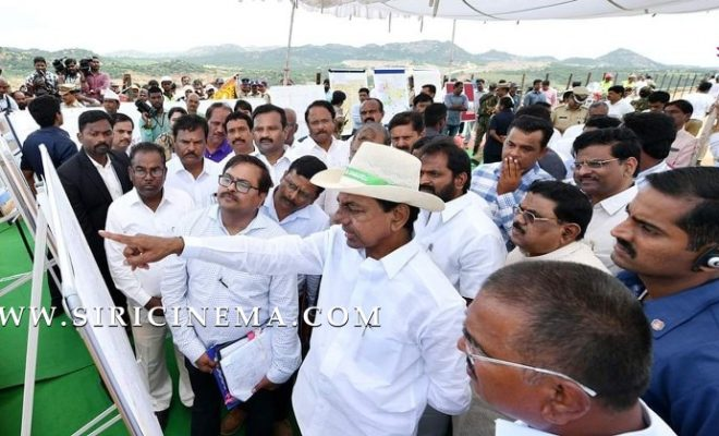 Sri K Chandrashekhar Rao visit to Edula, Vattem,