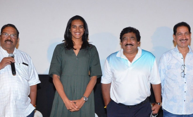 kousalya krishnamurthy movie press meet pv sindhu