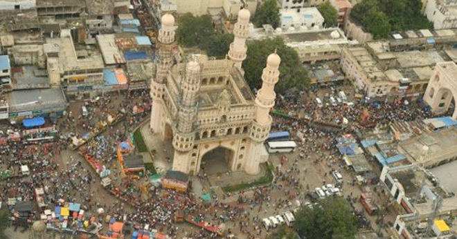 Aerial Survey of Ganesh Immersion