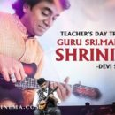 GURU Maestro Sri.Mandolin.U.Shrinivas Anna.. For TEACHERS DAY is launched by Dear aryasukku Dear boselyricist garu !!