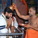 Gang Leader team at Vijayawada Durga temple, Machavaram Vijayawada Hanuman temple
