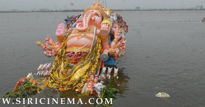 Immersion of Khairatabad Ganesh