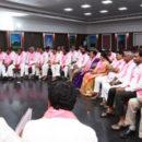 Ktr met municipal incharges and secretaries @ Telangana Bhavan