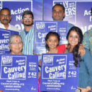 Save cauvery Telugu song launch by Smita and Ananth Sriram