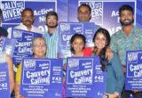 Save cauvery Telugu song launch by Smita and Ananth Sriram