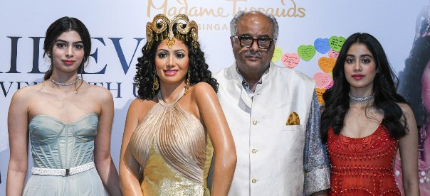 Sri Devi's was figurine at Madam Tussauds