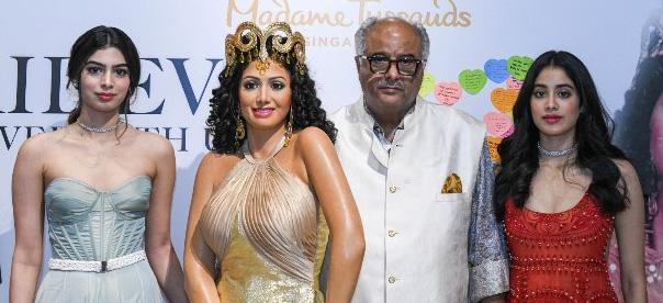 Sri Devi's was figurine at Madam Tussauds