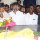 TDP National leader Chandrababu naidu pay last respect to Kodela