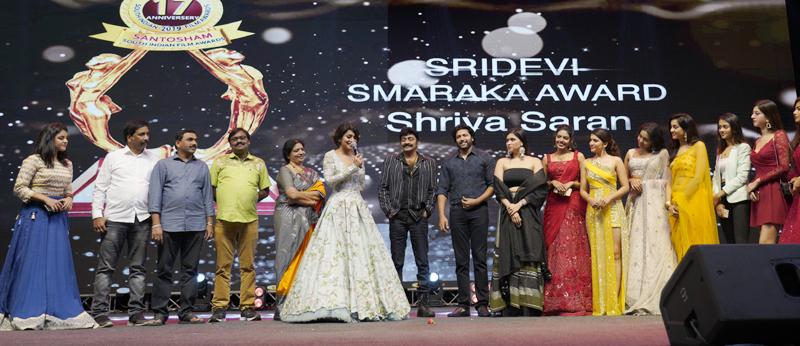 santosham south indian film awards 2019 Set -2