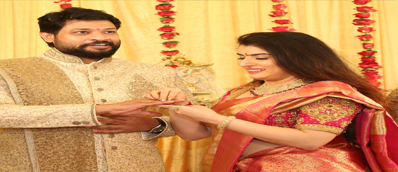 Actress Archana Engagement Photos