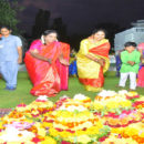 Bathukamma celebrations at Rajbhavan