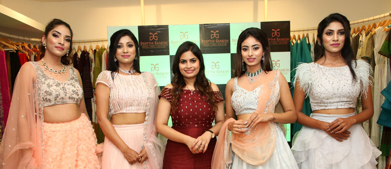 Deepthi Ganesh Winter Collection 2019 Launch & Fashion Show