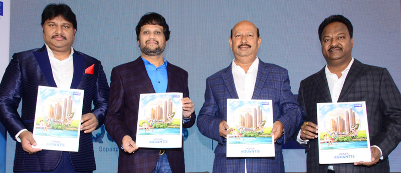 HONER AQUANTIS HOMES LAUNCH PRESS MEET