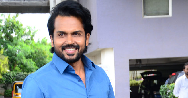 Karthi Kaithi Interview Photos