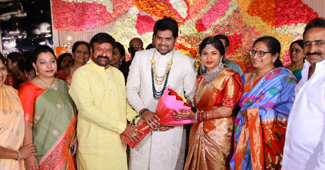 Kodi Ramakrishna Daughter Engagement Photos
