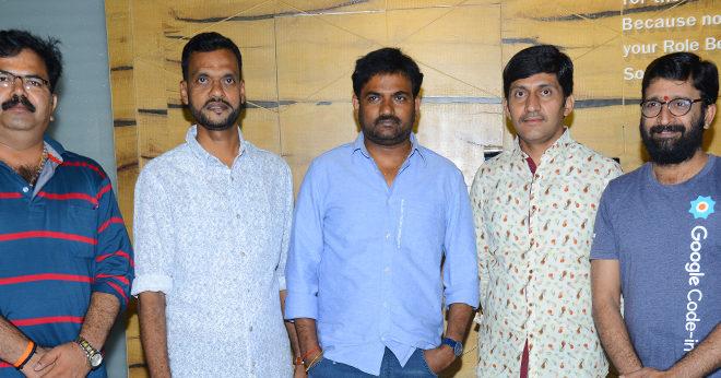 Parmandayya Sishyula Katta 3d Movie Teaser launch By Director Maruthi