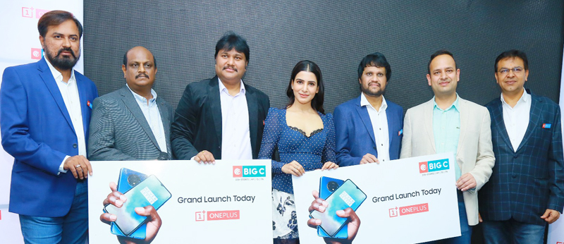 Samantha Launch One Plus Mobile At Big C Photos