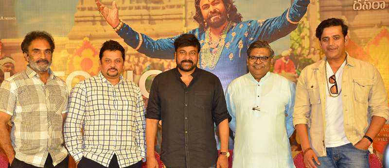 Sye Raa Narasimha Reddy press meet