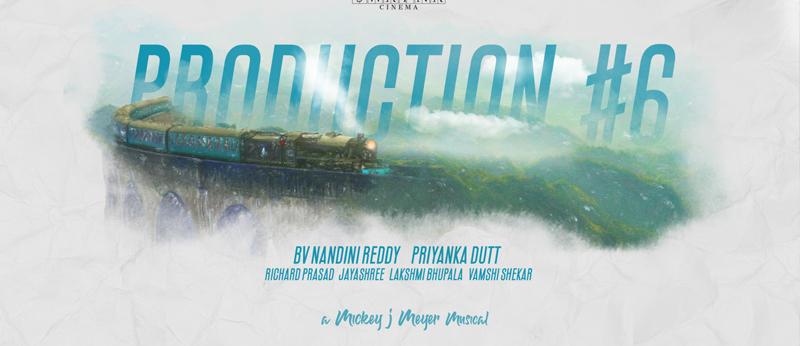 Director BV Nandini Reddy, Swapna Cinema Production No 6 Announcement