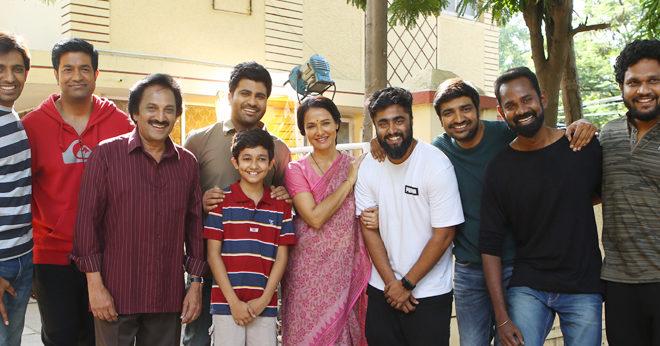 Amala Akkineni Joins the Sets of Sharwanand Film