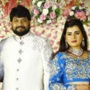 Archana Wedding Reception Photos