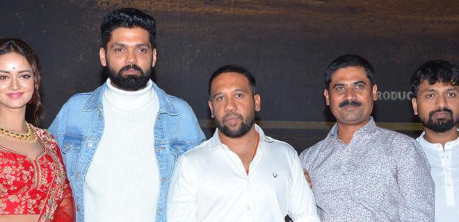 Athade Srimannarayana Trailer launch photos