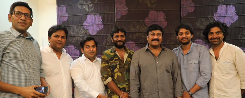 George Reddy Adugu Adugu song launch by Chiranjeevi
