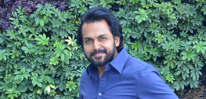 Karthi Interview Photos