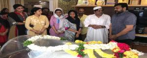 Megastar deep condolences on demise of Ali's mother