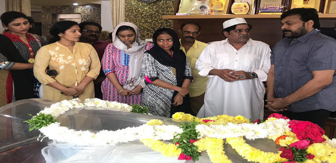 Megastar deep condolences on demise of Ali's mother