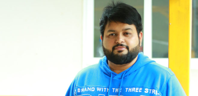 Thaman Interview photos