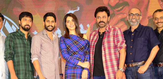 Venky Mama Press Meet Photos