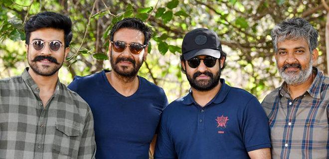Ajay Devgn starts shooting for RRR