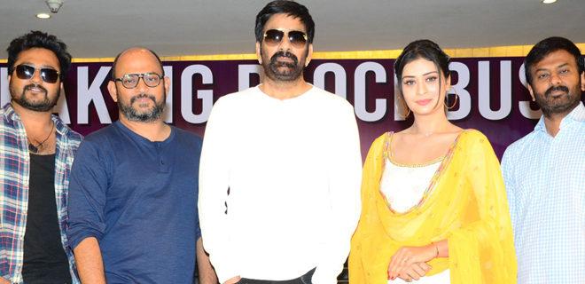 Disco Raja success meet