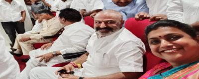 Bala Krishna and Roja Hubbed @ Sasanamandali